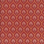 Moda Rue Indienne by French General - 3631 - Bazar, Traditional Stylised Floral on Gold - 13688 12
